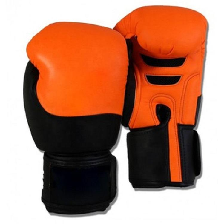 China Hot Sale Product Orange And Black Winning Gloves Boxing From Chinese Manufacture