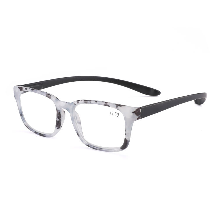 Mode transparent retro progressive anti blau licht lesebrille