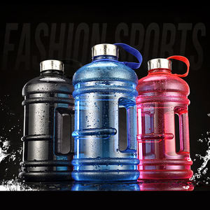 OLERD Wholesale 2.2L BPA Free Large Capacity Gym Plastic Sport Gallon Water Bottle