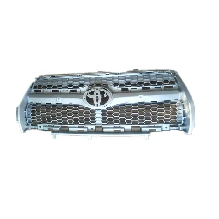 Hot Sale High Quality Body Kit Exterior Accessories Silver Front Grille Rav4 2012 2013