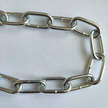 4MM Korean Standard Galvanized Welded Steel Link Chain