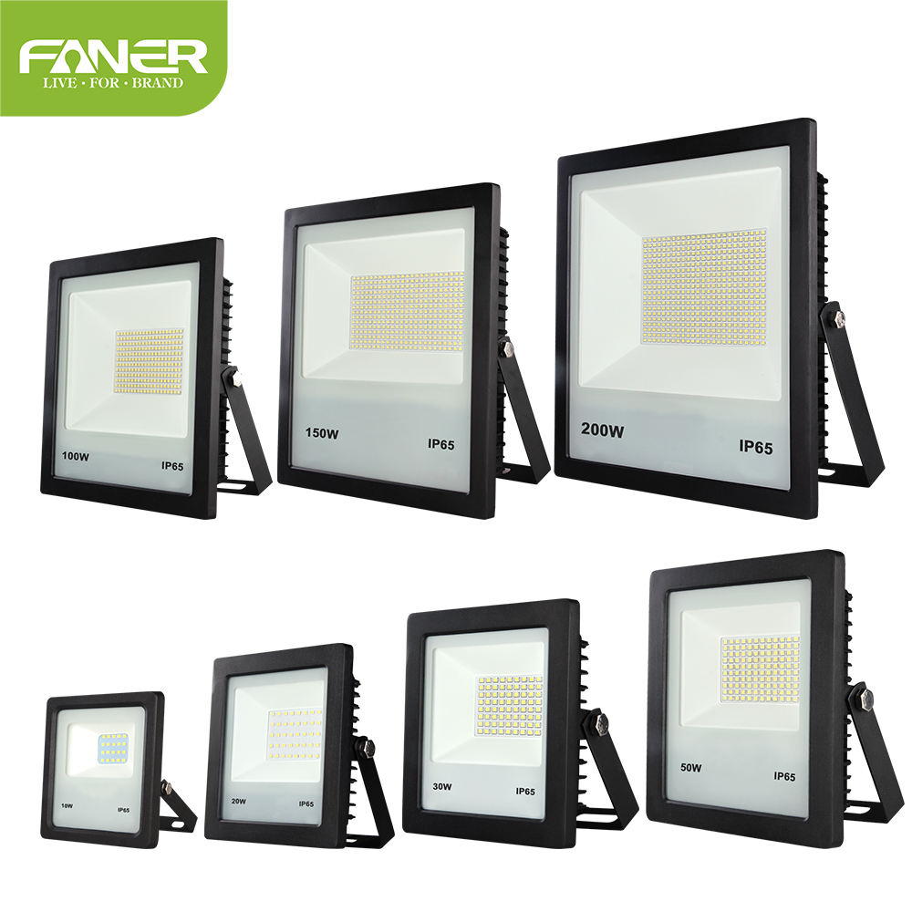 Faner CB bis certified 50w white ip65 led flood light ac85-265v dimmable floodlight designed for outdoor