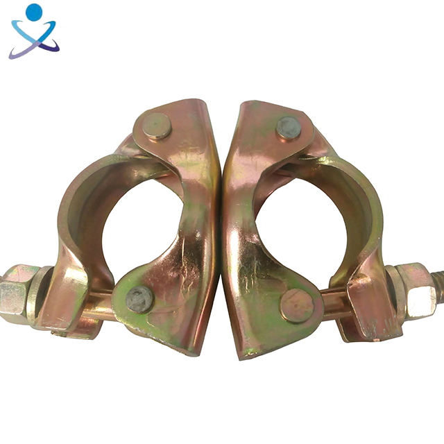scaffolding double coupler load capacity clamp factory direct supply