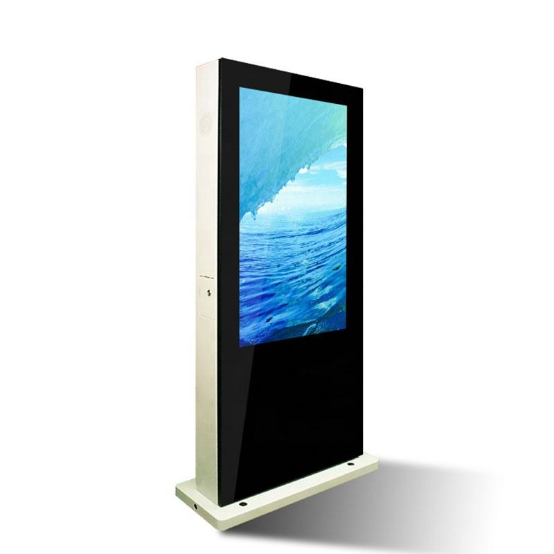65 inch ip65 waterproof outdoor advertising, high brightness lcd advertising, outdoor advertising 1080p kiosk