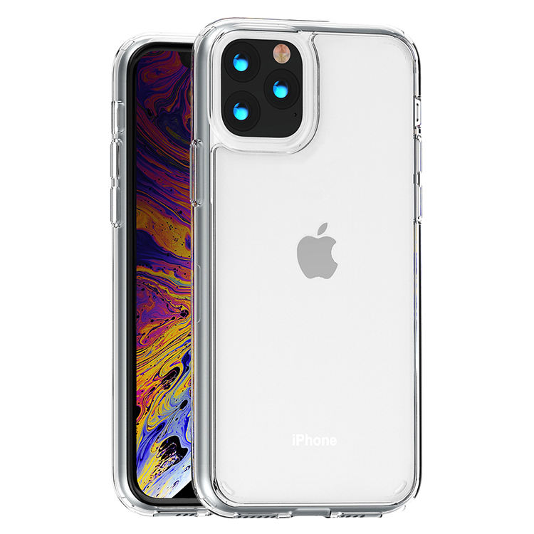 Slim Hard Shockproof Crystal Clear Transparent For iPhone Case TPU Acrylic Phone Case For iPhone 11 Pro Max X/XS XR 7/8 SE 2020