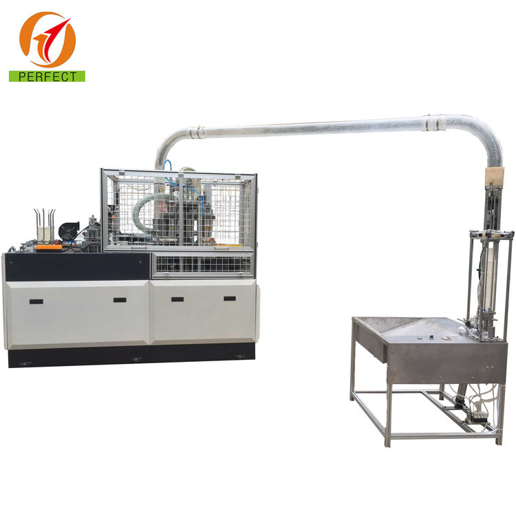 High speed fully automatic paper cup forming making machine