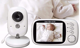 Lullaby Bay Video Baby Monitor with Camera. Anti-Hack Encryption. Wireless Digital 3.2 inch LCD Screen. Night Vision.