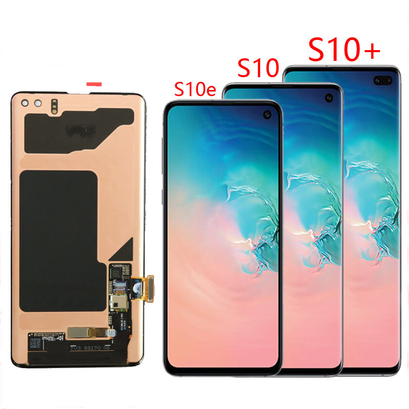 Wholesale For Samsung Galaxy S10+ SM-G975 LCD Display Touch Screen Digitizer Replacement For SAMSUNG S10 Plus G975 LCD
