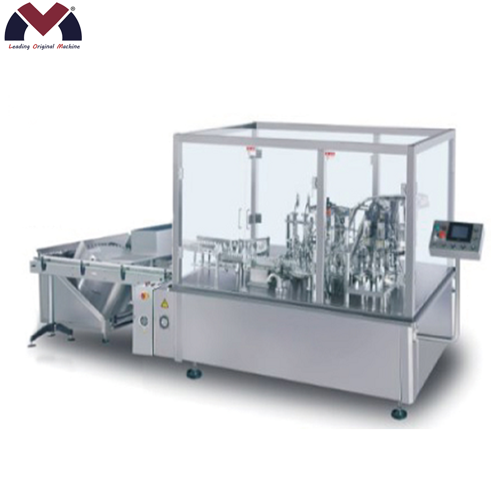 LM-NJX4 Automatic jam hot sauce chili sauce filling machine bottle filling capping and labeling machine