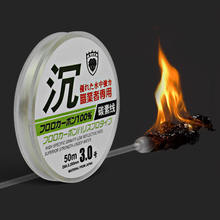 Peche 50m Fluorocarbon Carp Fishing Line Tenkara Sedal Linha Senar Pancing De Filo Da Pesca Fishing Equipment From China