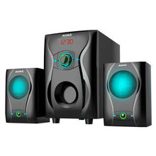 Audmic 20W Multimedia Speakers USB SD card FM Radio 21Home Theatre Speaker Woofers