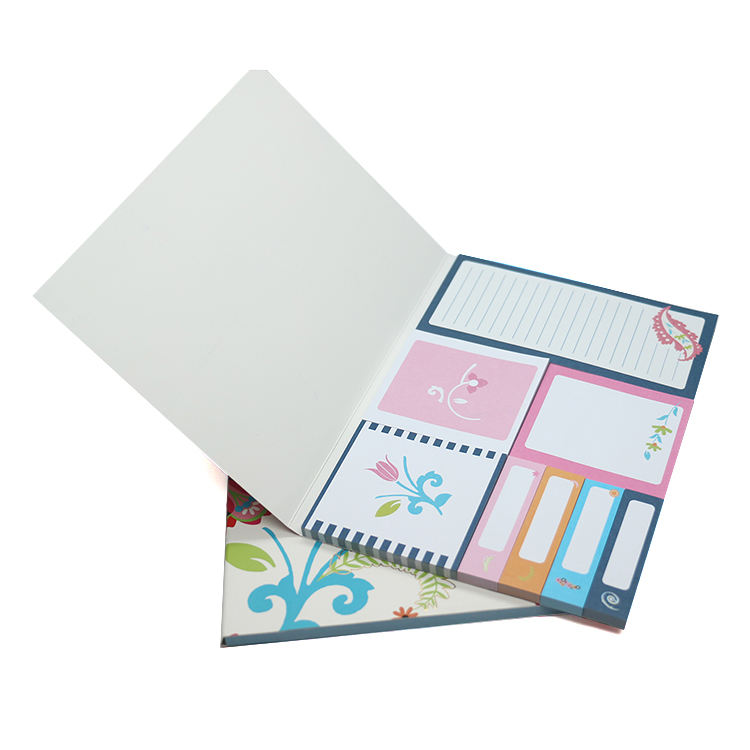 High quality cheap price promotion printing gift sticky note set