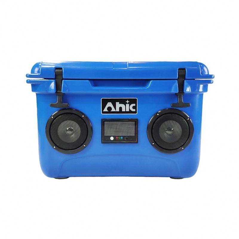 High output audio speaker cooler,music stereo cooler box,Cooler with Bluetooth Speaker