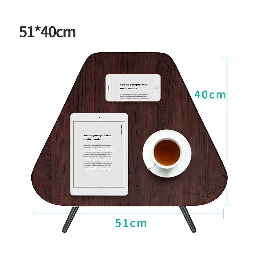 Height Adjustable Computer Desk Portable End Side Coffee Laptop Table