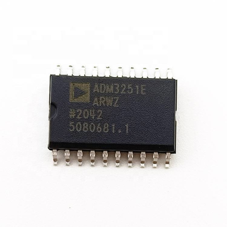 Digital Isolators Electronic Components ADM3251EARWZ DGTL ISO 2500VRMS RS232 20SOIC Surface Mount IC CHIPS ADM3251EARWZ