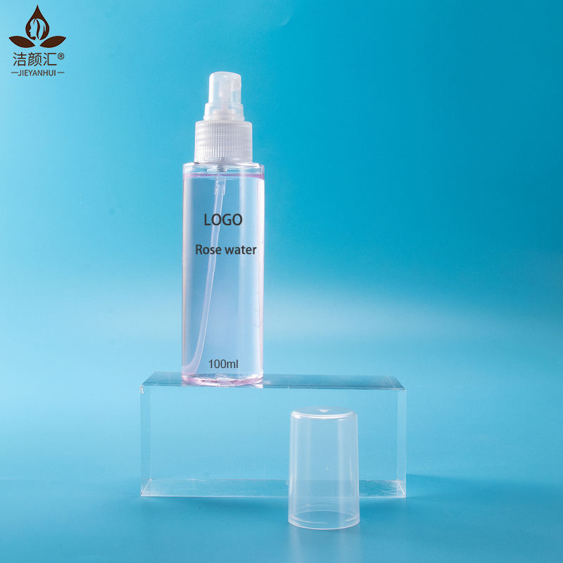 Private label rose spray shrink pores moisturizing firming rose water toner organic floral waterserum skincare