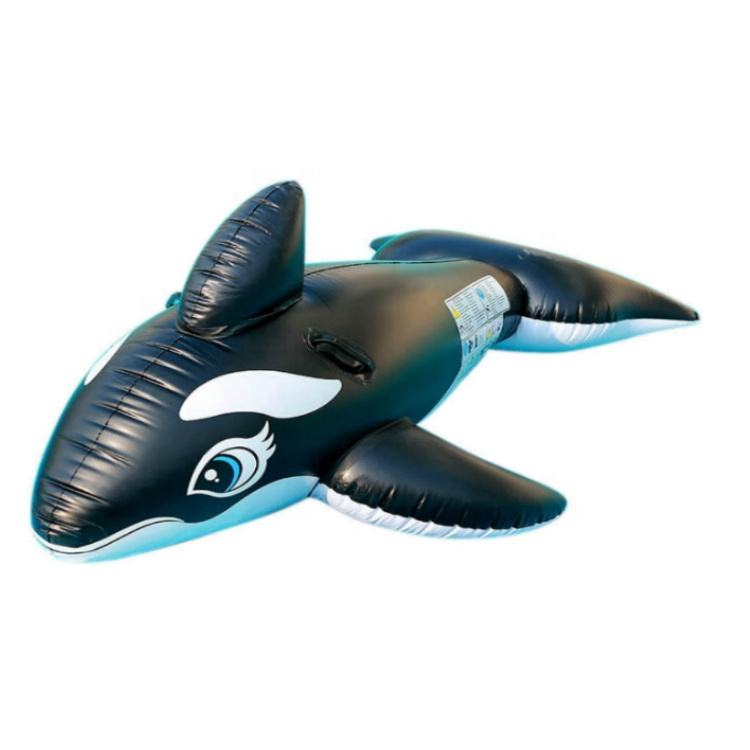 Plastic Inflatable Pool Animal Aquatic Whale Toy