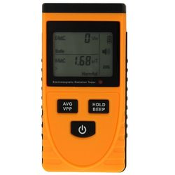 GM3120 Electromagnetic Radiation Detector Quality EMF Meter Tester DHL Shipping Best price Factory Original