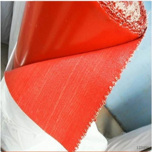 Hot Sale Silicone Rubber Fiberglass Fabric Cloth with Heat Transfer Fabric