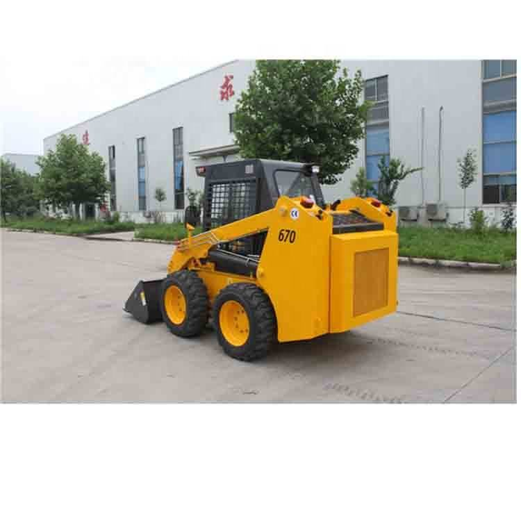 Mini Skid Steer <span class=keywords><strong>Loader</strong></span> pale WECAN 0.45cbm WT670