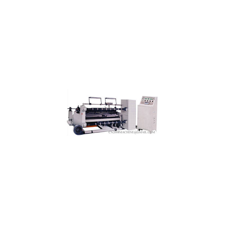 Horizontal Type Bigロールクラフト紙、不織布Slitting And Rewinding Machine