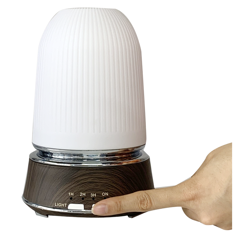 Olamlife New Product Portable Essential Oil Aroma Diffuser Bottle 300ml Aroma Diffuser Wireless Bigger 7 Led Color Diffuser