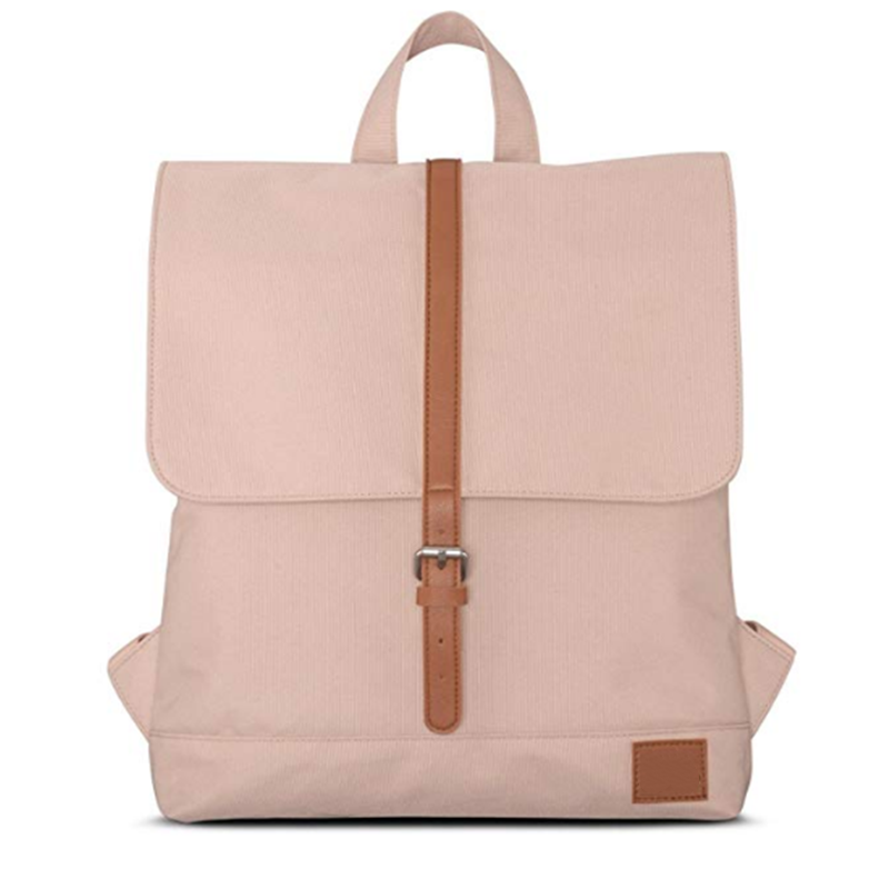 2019 new Fashion Sustainable materia Small Backpack Women Durable Recycled PET Bottles Daypack versatile use back pack pink