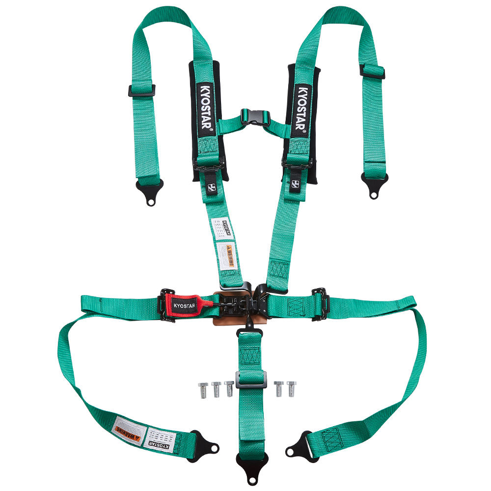 5 point seat belt harness with FIA certification