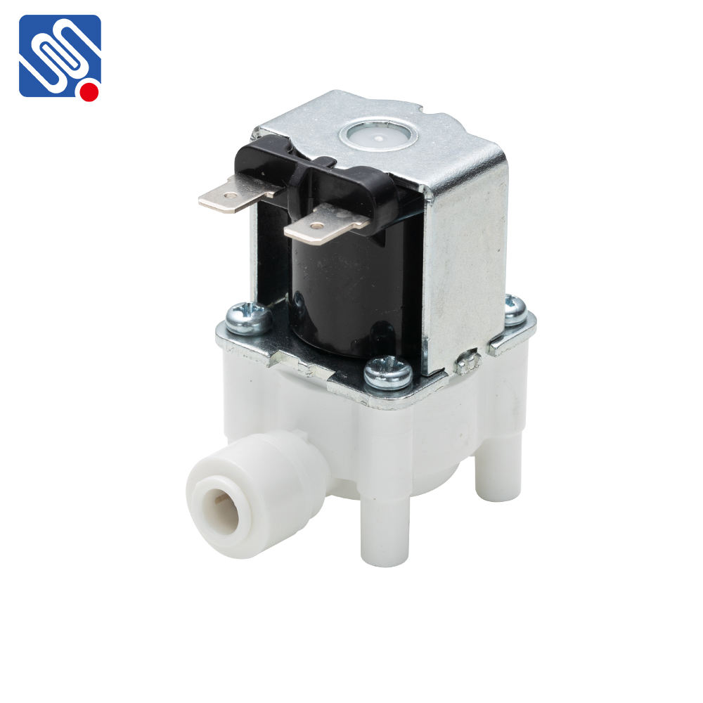 Meishuo FPD360AX Normally closed one way plastic smart water valve 12VDC solenoid valve 1/4