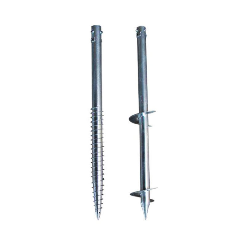 Japan Galvanized Steel Ground Screw Foundationg For High-Strength