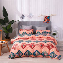 Home Textile Customize Wholesale America Style Polyester 3 Pieces Bed Duvet Cover