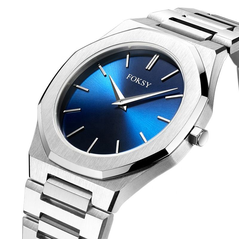 Custom New Milano Design 316L Stainless Steel Japanese Miyota Quartz Movement Wrist Watch For Men