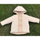 China Factory Popular Organic Cotton Double Breasted New Born Baby boy Coat For Newborn