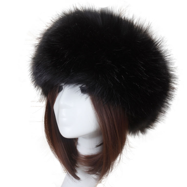 Fashion Wholesale Winter Women Popular Fur Headband Ladies Fur Headband Women