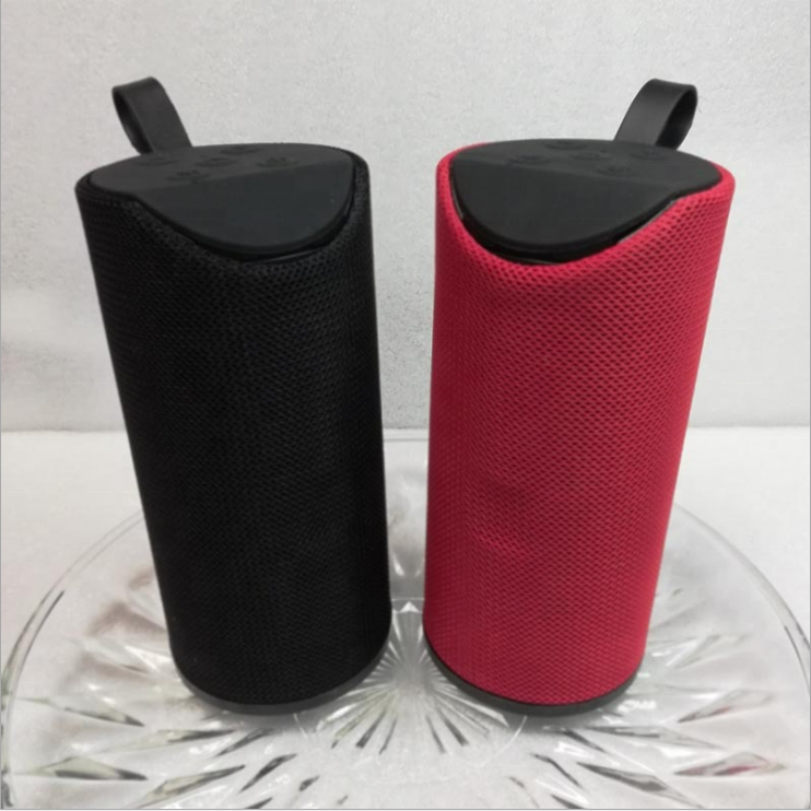 most popular portable bluetooth speaker outdoor wireless bass speaker with IPX4 fabric OEM gift horn&speaker