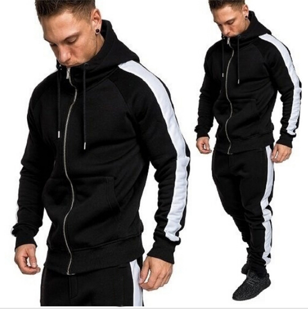 2019 Autumn Winter Sport outdoor Suits Men Hoodies Sets Men Sportswear Running Jogging Suit Male Tracksuit
