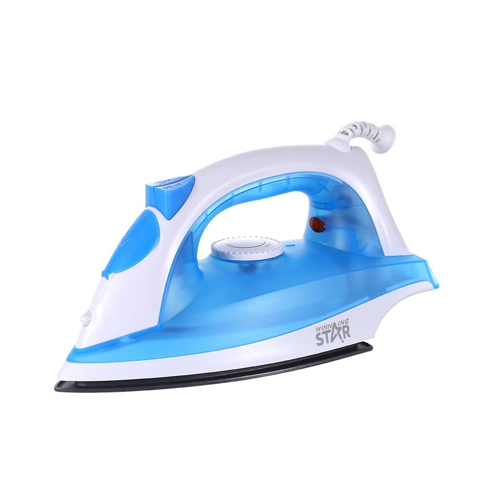 ST-098A WINNING STAR Blue New Design Professional Electric Steam Iron Press For Hotel Commercial Steam Iron Promotion Steam Iron