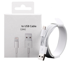 Original for iPhone charger 1m/2m USB cable charging data line with high quality