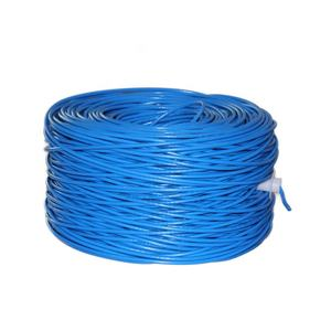 Cat 6 kabel pass test reinem kupfer 24awg 2pr 4pr 305m 1000ft 0,56 utp cat6 innen kabel