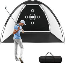 Amazon Hot Sales Golf Hitting Training Aids Nets with Target and Carry Bag for Backyard Driving Chipping  with Best Price