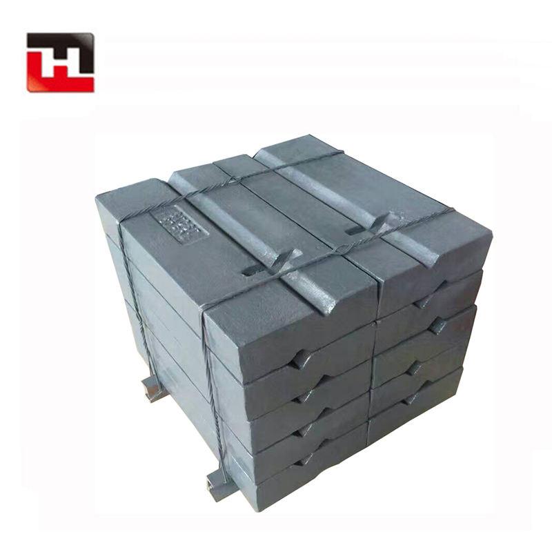 L1505 Cao Chrome Mactenxit Thép Mangan Thổi Bar Nếu Không Có Chèn Gốm