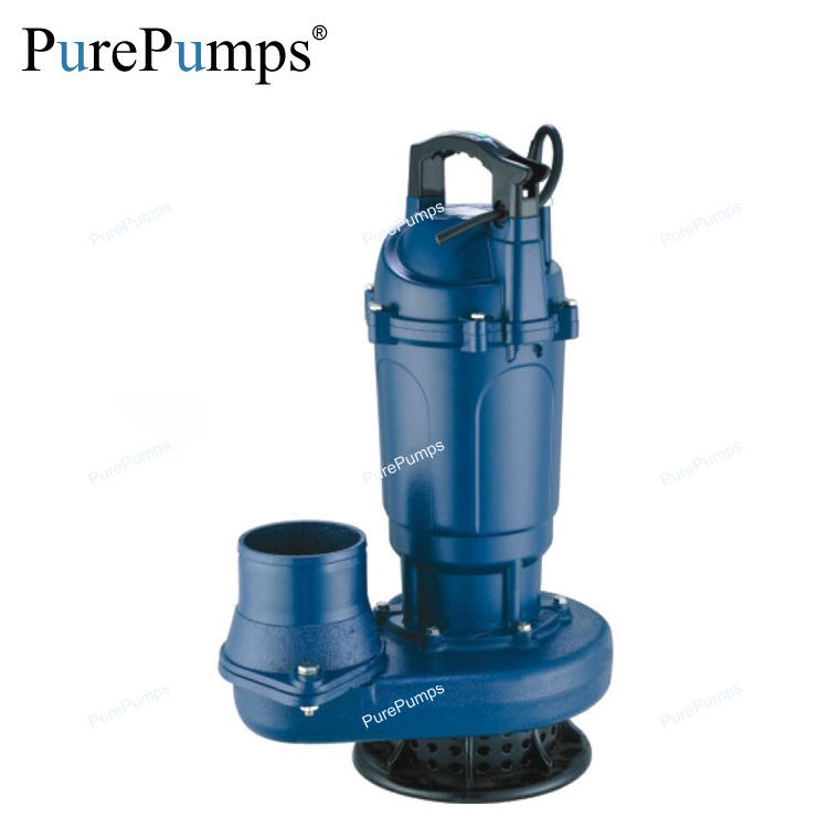 2inch 0.75hp single phase corrosion resistance electric submersible sump pump