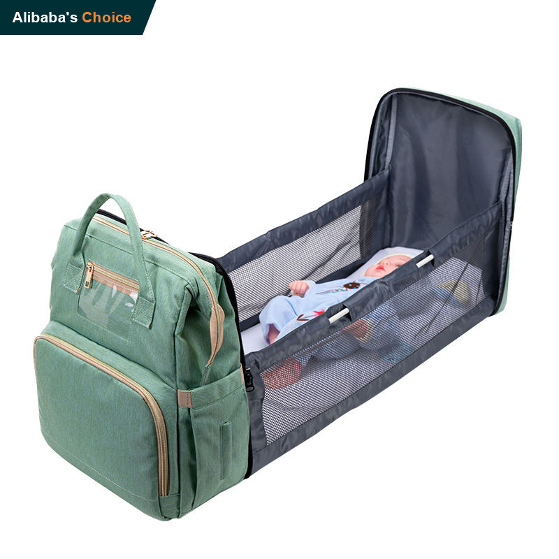 Nappy Changing Bag Multifunctional Custom Waterproof Travel Mom Backpack Fashion Mommy Diaper Backpack Baby Diaper Mummy Bag
