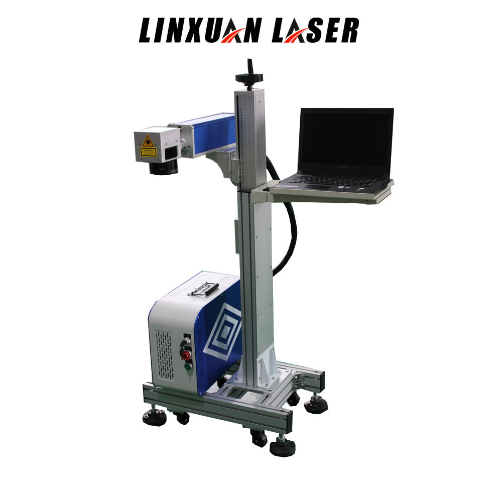 Line Hand-held Coated Material Papper Serial Number Used Moving Head Mini Portable Laser Marking Machine For Jewellery