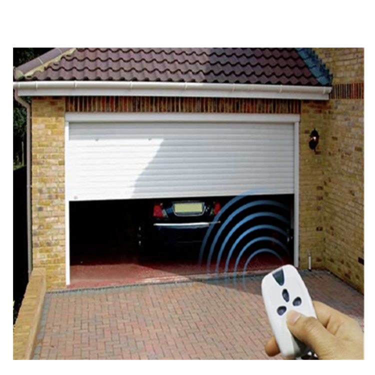 China Cheap Automatic Aluminum Roll Up Shutter Door And Window Manufacturers Prices With Remote Control For Exterior Entrance