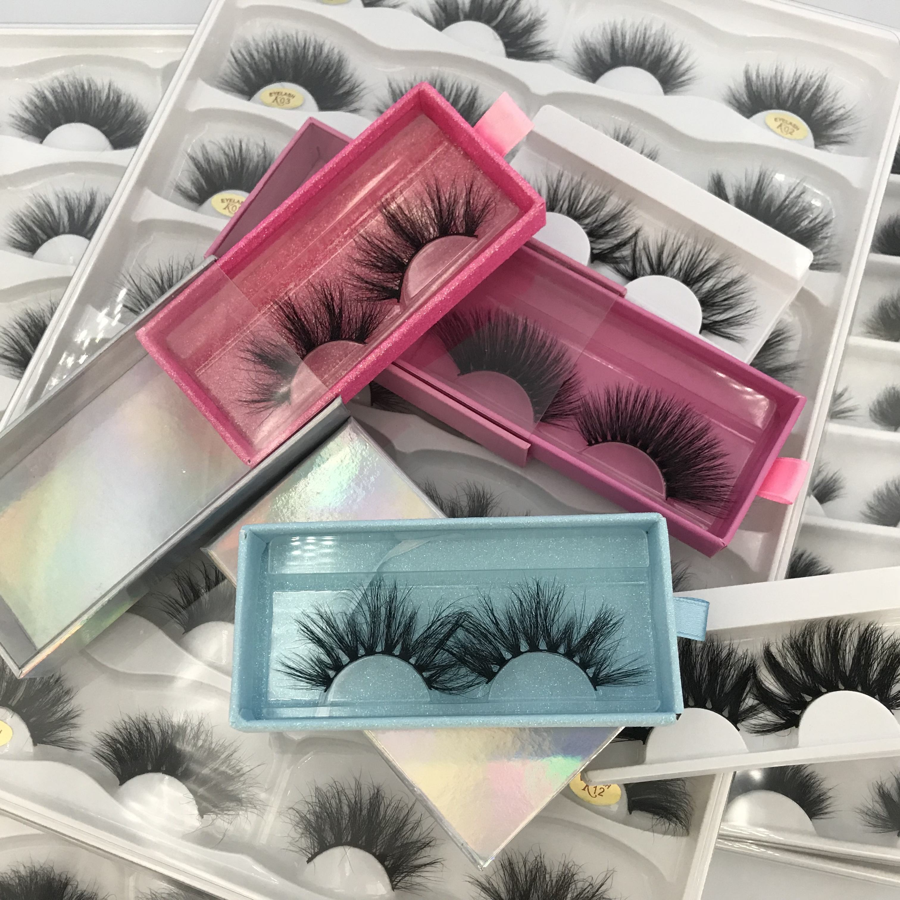 Wholesale Lashes Extensions 18MM 3D New Style Eyelash Accessory Tool Unique Case