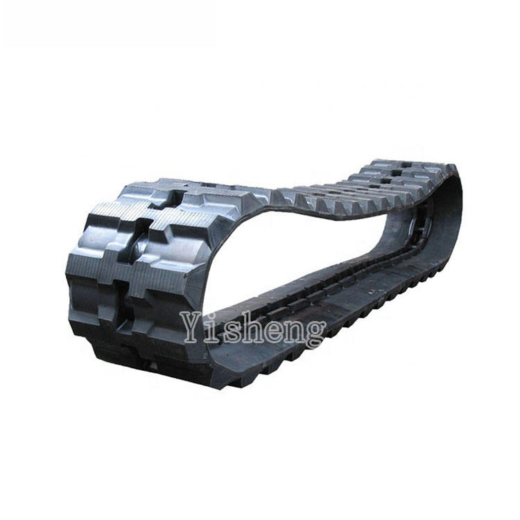 Heavy machine mini tracked excavator parts AX05 EX05 EX05-2 construction rubber track