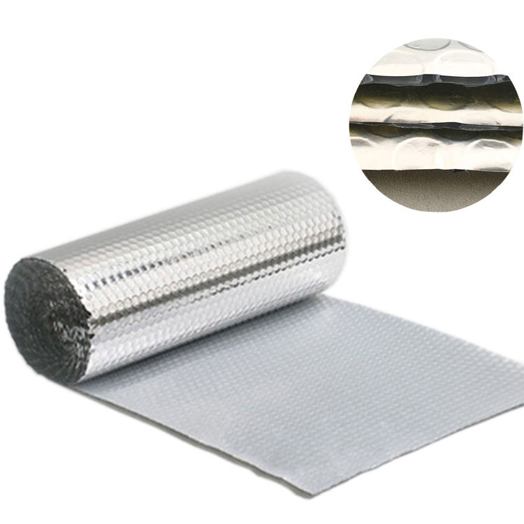 bubble aluminum foil cold/heat resistant material for RV and caravan insulation
