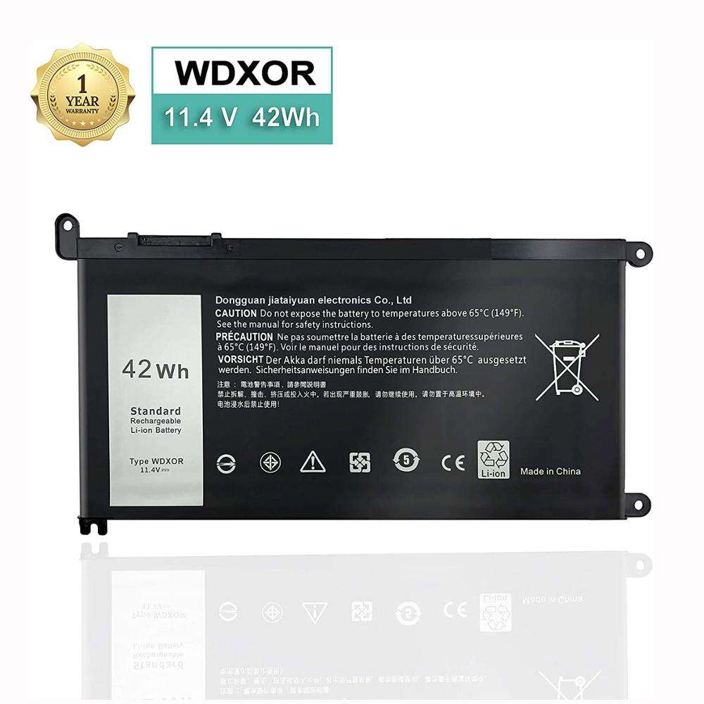 Hot-selling Replacement 11.4V 42WH WDX0R Battery For Dell Inspiron 13 7368 15 5567 5568 5570 7560 Li-Polymer Battery