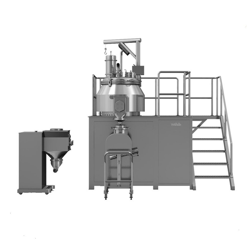 High Platform Rapid Pharmaceutical wet mixing granulator machine